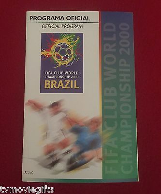 FIFA World Championship Brazil Official Program 2000