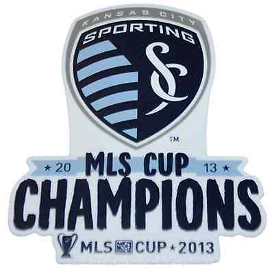 "Sporting KC Kansas City Wincraft 2013 MLS Cup Champs Clear Die-Cut Decal 8""x8"""