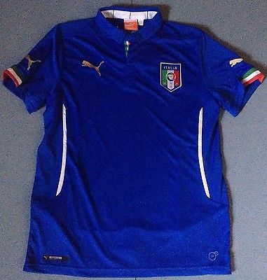 Italy National Team Puma Soccer Jersey Youth Size XL Retail $70