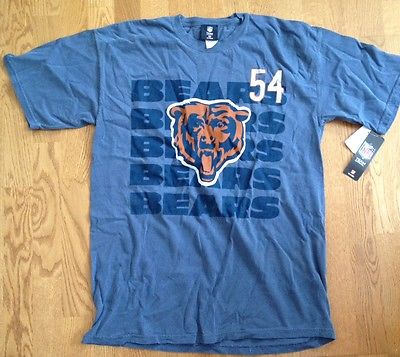 Mens NFL Team Apparel Bears BRIAN URLACHER Jersey NEW With Tags Mens Large Shirt