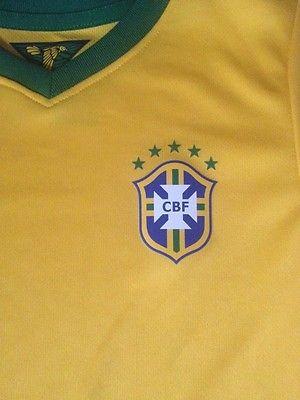 CBF Brazil Nike Toddler Soccer Jersey Retail $75