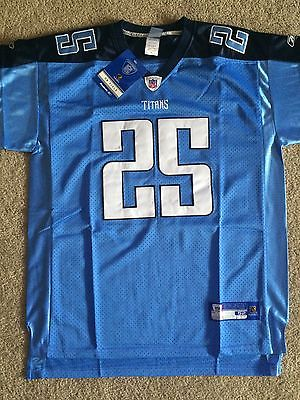 NEW LenDale White Tennessee Titans Reebok NFL Jersey Size XL