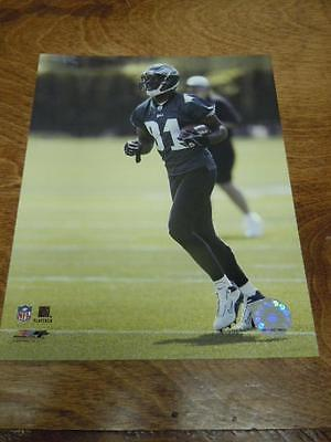 "TERRELL OWENS EAGLES NFL FOOTBALL 8X10 GLOSSY PHOTO FILE PHOTO ""PHILLY FLYER"""