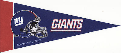 "NFL Mini Pennant  ""New York Giants"""