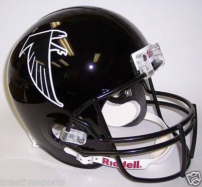 ATLANTA FALCONS THROWBACK 1990-2002 RIDDELL NFL FULL SIZE FOOTBALL HELMET