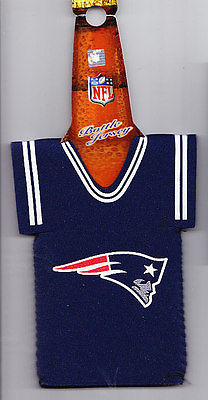 NEW ENGLAND PATRIOTS Official Bottle Cover Jersey NFL Football PATS