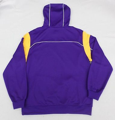 NFL Minnesota Vikings Men's Reebok Clutch Fleece Finished Fan Gear Hoodie Med