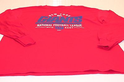 New York Giants TEE SHIRT SIZES S M L XL 2XL AUTHENTIC NFL APPAREL T81