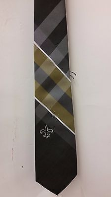 NFL Team Neck Tie, New Orleans Saints (WP Grid) NEW
