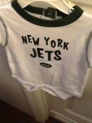 Reebok NFL New York Jets infant/toddler onesie  6/9 months