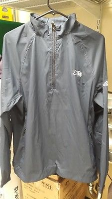 Seattle Seahawks NFL Adidas Climaproof Golf Jacket Zip Up Coat M Russel Sherman