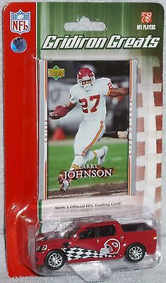 Upper Deck NFL Gridiron Greats Kansas City Chiefs Larry Johnson Ford F-150 NEW