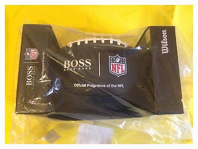New HUGO BOSS WILSON NFL OFFICIALLY LICENSED BLACK FOOTBALL Cologne Fragrance