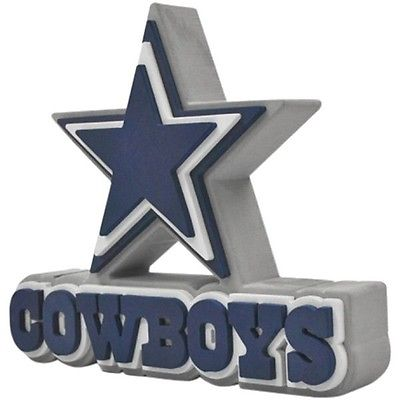 "NFL FH2129 Dallas Cowboys Fan 3D Foam ""Word"" Logo Sign - Approximately 18"""
