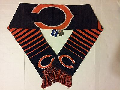 "CHICAGO BEARS  NFL  FOREVER COLLECTIBLES ""2014 WORDMARK ACRYLIC KNIT SCARF"""