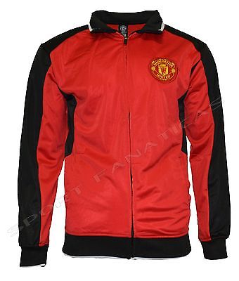 Manchester United Jacket Adult Red track zip up hoodie  new season 2015-2016