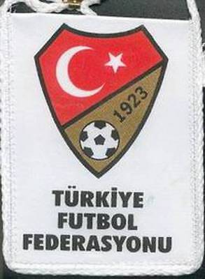 TURKEY FOOTBALL FEDERATION SMALL MINI PENNANT EURO 2016