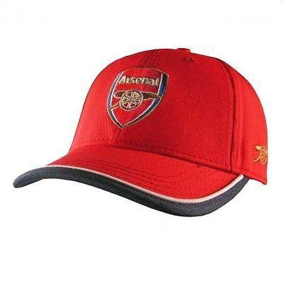 ARSENAL FC FOOTBALL CLUB SOCCER TEAM RED TP BASEBALL CAP HAT OFFICIAL LICENSED
