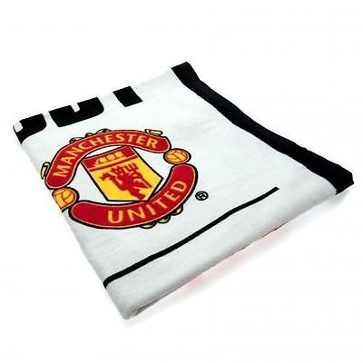 MANCHESTER UNITED SS OFFICIAL FOOTBALL SOCCER CLUB TEAM BATH BEACH TOWEL COTTON