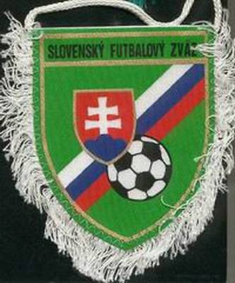 SLOVAKIA FOOTBALL FEDERATION OLD LOGO SMALL PENNANT EURO 2016
