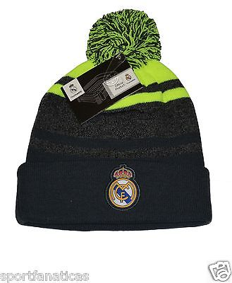 Real Madrid Beanie  Pom Pom Skull Cap Hat New Season 2015-2016