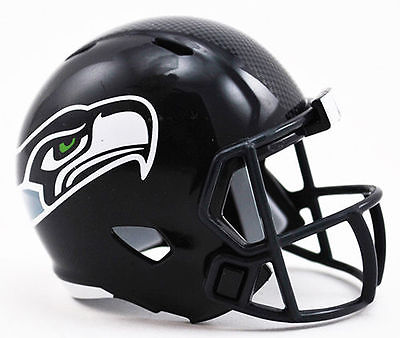 ***NEW***SEATTLE SEAHAWKS NFL Riddell SPEED POCKET PRO Mini Football Helmet