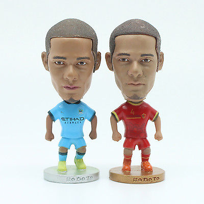 6.5 cm High Manchester City Sergio Vincent Kompany Belgium Action Figure Doll