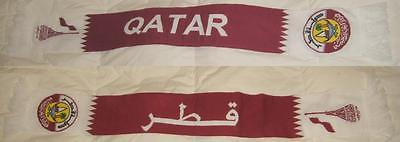 QATAR FOOTBALL SOCCER TEAM WINTER SCARF NEW