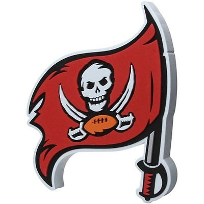 NFL FH2150 Tampa Bay Buccaneers Fan 3D Foam Logo Sign - Approximately 18""