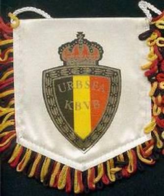 BELGIUM FOOTBALL FEDERATION SMALL PENNANT EURO 2016