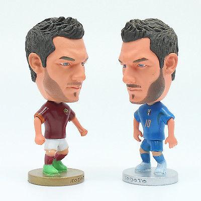 6.5 cm High A.S. Roma Sergio Francesco Totti Italy Soccer Football Mini Figure