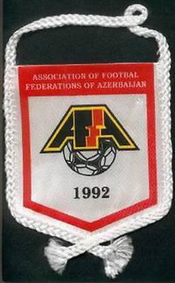 AZERBAIJAN FOOTBALL FEDERATION OLD LOGO SMALL MINI PENNANT