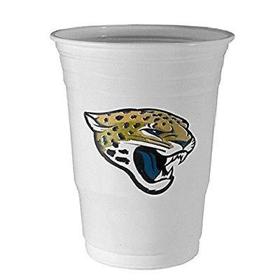 NFL FGDC175 Jacksonville Jaguars Disposable Game Day Cups 18oz Package Of 18
