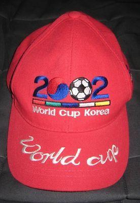 2002 FIFA WORLD FOOTBALL SOCCER CHAMPIONSHIP KOREA HAT CAP