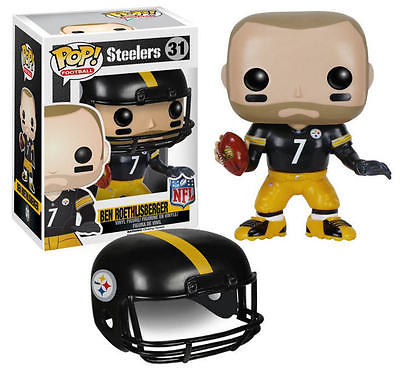Pop Nfl Series 2 Ben Roethlisberger (2016) - New - Sports Merch