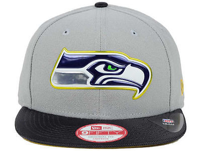 Seattle Seahawks NFL GOLD COLLECTION New Era 9FIFTY Snapback Hat