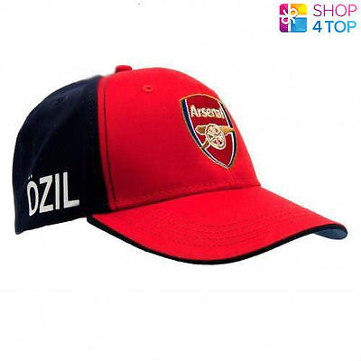 ARSENAL FC BASEBALL CAP HAT OZIL RED FOOTBALL CLUB SOCCER TEAM OFFICIAL LICENSED