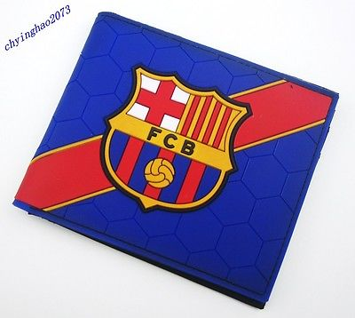 new FC barcelona  Badge  PVC  Wallet Purse