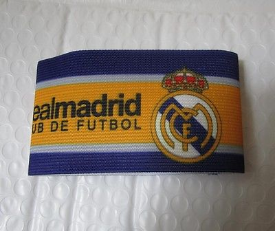new FC real madrid Gear Adjustable Captain Armband Player Arm band