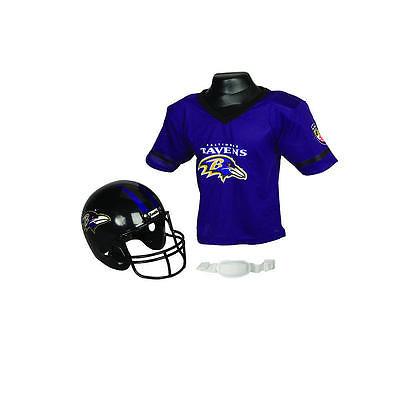 NFL Baltimore Ravens Helmet & Jersey Set