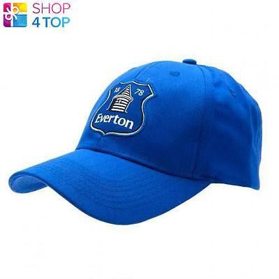 EVERTON FC FOOTBALL CLUB SOCCER TEAM BLUE BASEBALL CAP HAT OFFICIAL LICENSED NEW