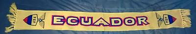 ECUADOR FOOTBALL SOCCER TEAM WINTER SCARF NEW