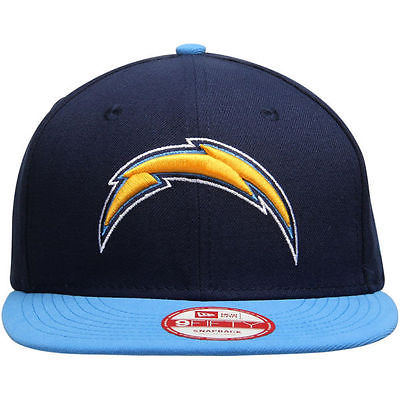 San Diego Chargers NFL BIND BACK New Era 9FIFTY Snapback Hat