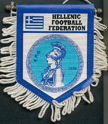 GREECE FOOTBALL FEDERATION SMALL PENNANT #2