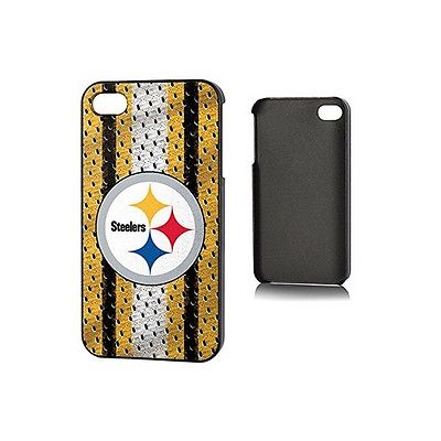 NFL I4NF24 Pittsburgh Steelers Slim Series iPhone 4 Cellphone Case