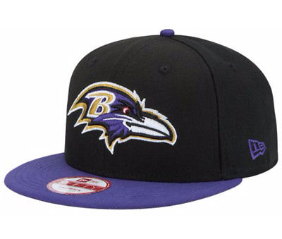 Baltimore Ravens NFL BIND BACK 2-Tone New Era 9FIFTY Snapback Hat