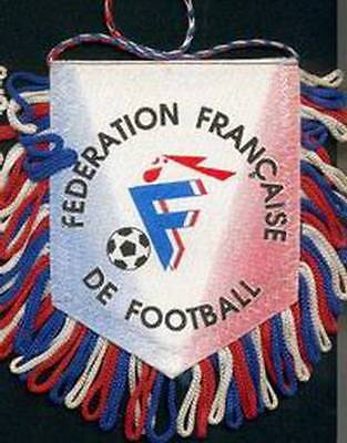 FRANCE FOOTBALL FEDERATION SMALL PENNANT #4 EURO 2016