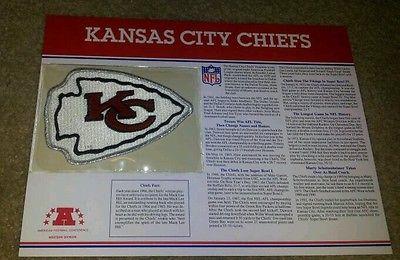 Kansas City Chiefs NFL Patch