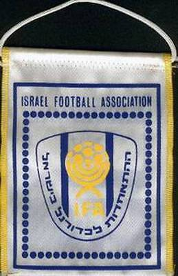 ISRAEL FOOTBALL FEDERATION OLD LOGO SMALL PENNANT #3