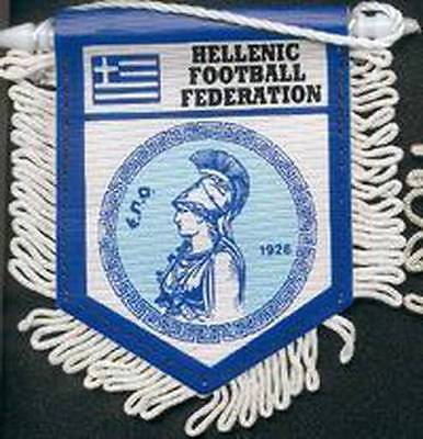 GREECE FOOTBALL FEDERATION SMALL PENNANT
